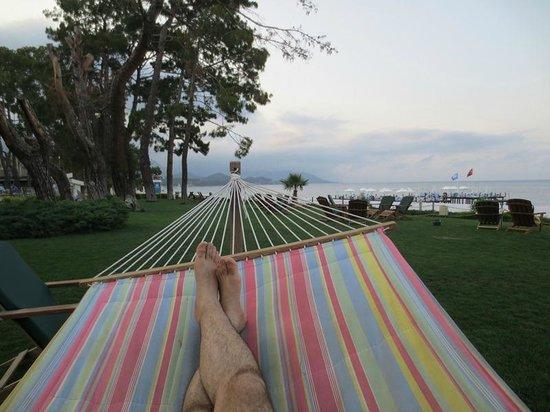 Barut Kemer : relaxation
