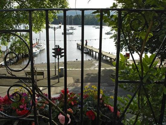 Waterhead Hotel: view from bed room 16