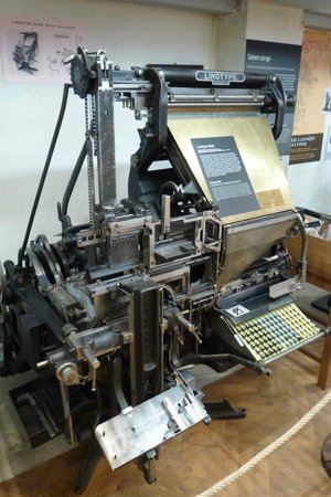 National Technical Museum : Printing press
