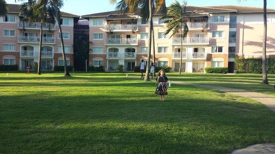 Sauipe Resorts: Área externa do hotel Premium.