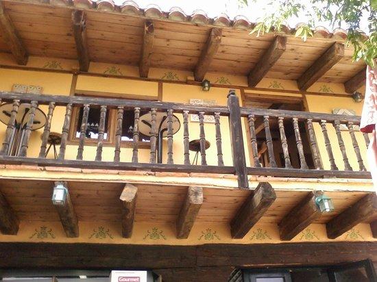 Restaurante Marqués de Cruilles: La entrada al restaurante