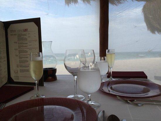 El Dorado Casitas Royale, by Karisma: Beachfront Dinner