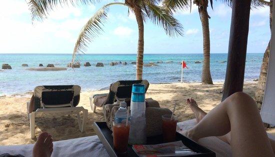El Dorado Casitas Royale, by Karisma: View from Beach Bed