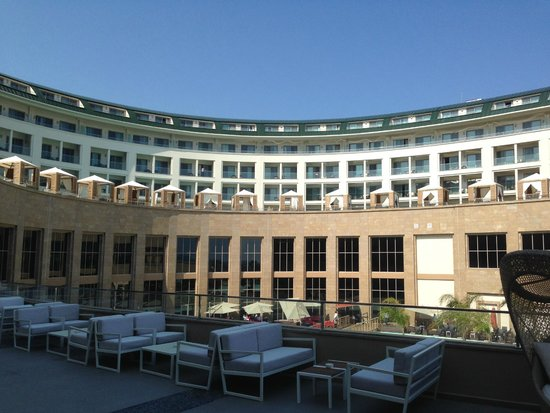 Kaya Palazzo Golf Resort : здание отеля