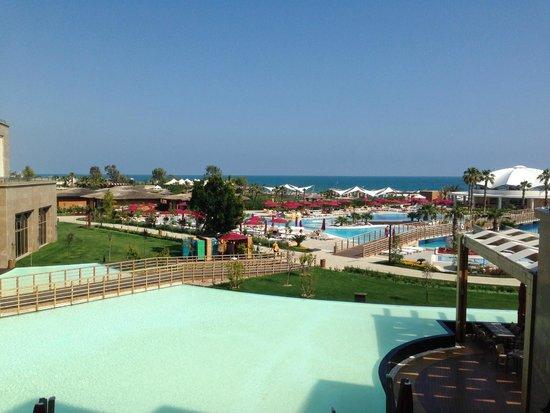 Kaya Palazzo Golf Resort : территория отеля