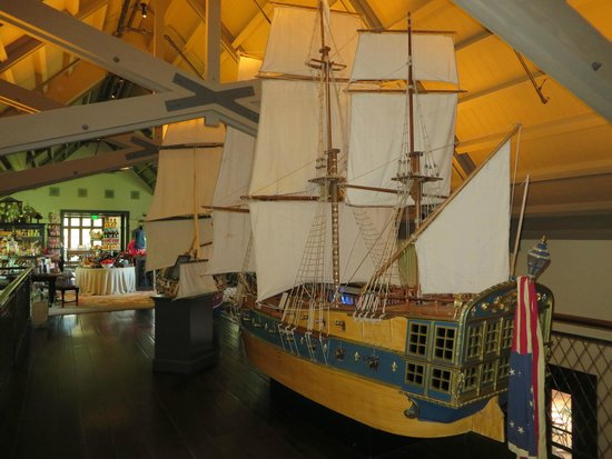 Francis Ford Coppola Winery: Model boat used in the film Marie Antoinette (directed by Sofia Coppola)