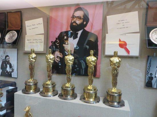 Francis Ford Coppola Winery: Francis Ford Coppola's Oscars