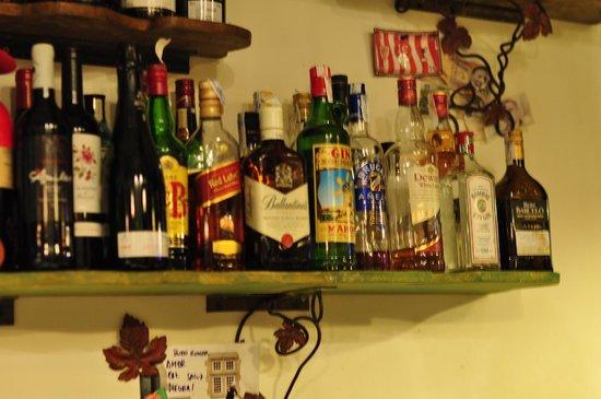 Taberna la Concha : お酒も豊富
