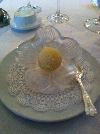 The French Room - TEMPORARILY CLOSED: Lemon Sorbet