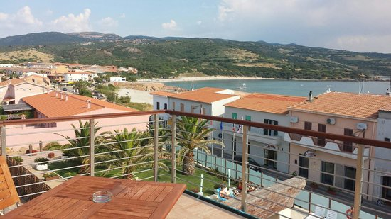 Hotel Corallo: What a balcony view