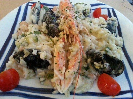 Konoba Bonaca: white risotto