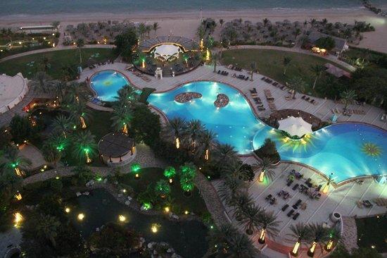 Le Meridien Al Aqah Beach Resort : Вид из номера