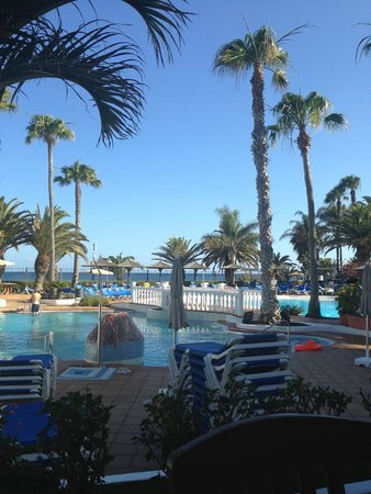 Sol Lanzarote All Inclusive: view from snack bar