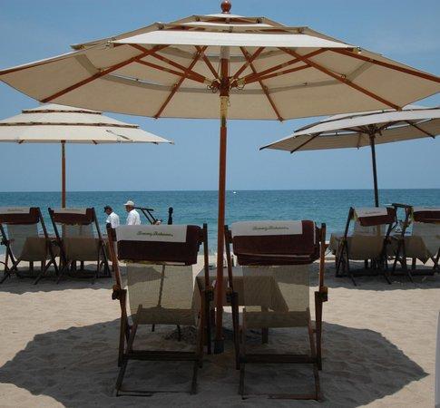 Playa de los Muertos : La Palapa Beach Club
