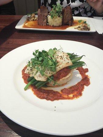 Parkfield Inn: baked cod