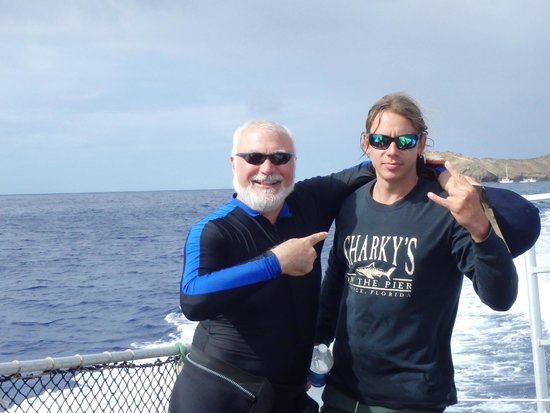 Makena Coast Dive Charters: Heading to the St. Anthony wreck