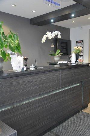 Brunnby Hotel: Reception