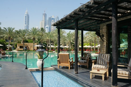 Arabian Court at One&Only Royal Mirage Dubai: Pool Bar