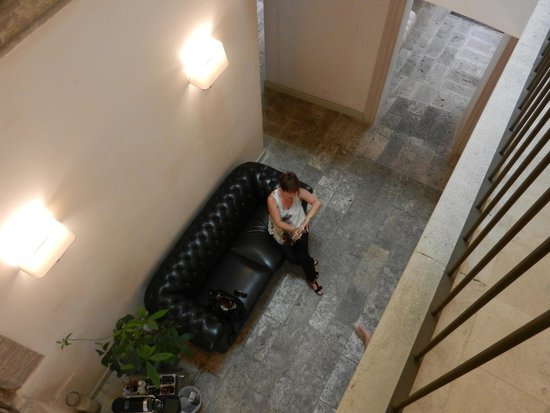 Hotel Palazzo dei Mercanti: Piccola hall