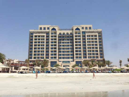 Ajman Saray, A Luxury Collection Resort: Hotel from Beach