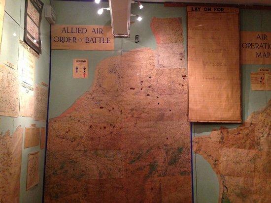 Museum of the Surrender: sala de mapas