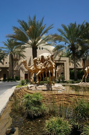 Arabian Court at One&Only Royal Mirage Dubai: Entrance