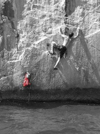 Avantura Adventures: Deep Water Soloing, Ciovo location