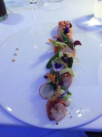 Restaurant SeaSens: Carpaccio de homard