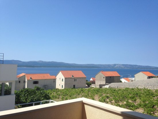 Villa Ana: View from our balcony