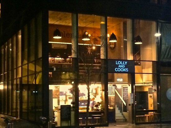 Lolly and Cooks: Grand Canal Dock