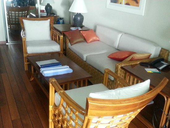 Grand Case Beach Club : Living Room area
