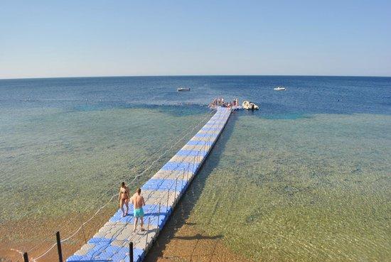 Tiran Island Hotel: понтон