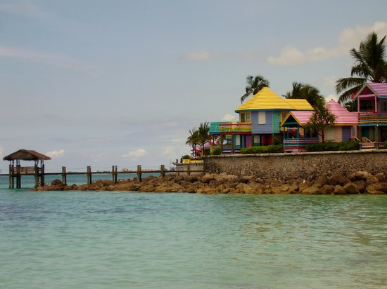 Compass Point Beach Resort: Compass Point from Love Beach