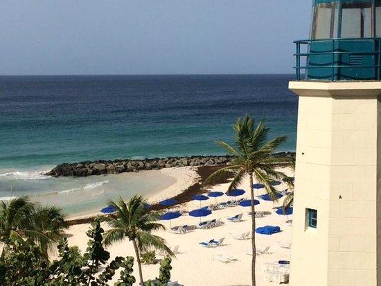 Hilton Barbados Resort: Beach at Hilton Barbados