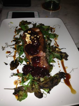 Tar and Roses: roasted duck breast