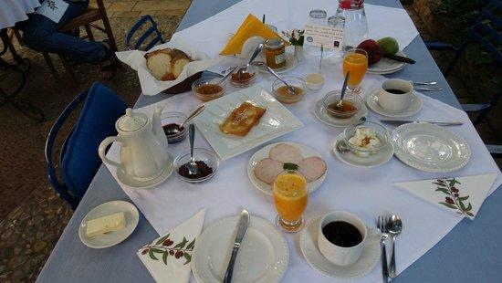 Ganimede Hotel : Frühstück