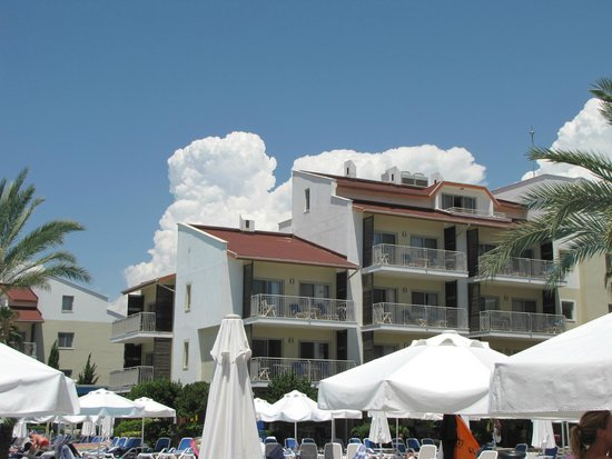 Barut B Suites: hotellområdet