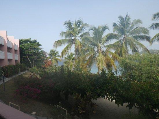 Secret Harbour Beach Resort: Room 312 room view looking left