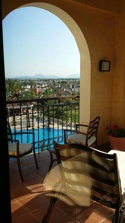 InterContinental Mar Menor Golf Resort & Spa: Our balcony