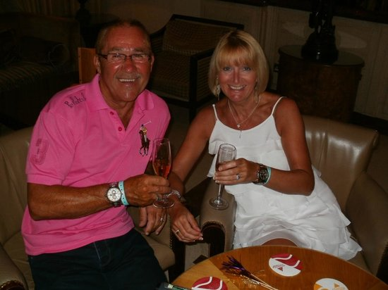 Hotel Riu Playacar : Martin & Michelle