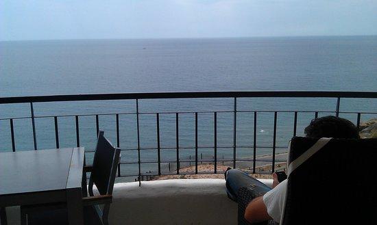 Apartamentos Fuerte Calaceite : Lo mejor las vistas,preciosas.
