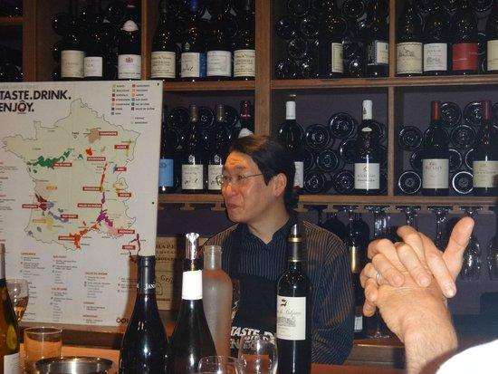 Dégustation de vins à Paris : Oenologue de grande qualité