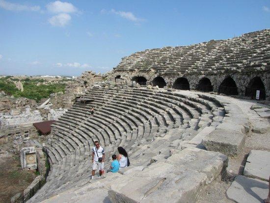 Greek Amphitheater : amfiteatern
