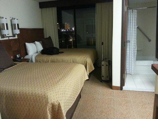 Hyatt Place Las Vegas: sleeping area