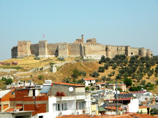 Urkmez Hotel: View from the rooftop terrace of the Ottoman Fortress