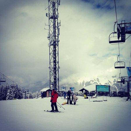 Station de ski d'Avoriaz : End od season snow