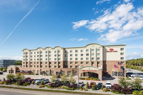 Crowne Plaza Anchorage-Midtown : Welcome to Crowne Plaza Anchorage
