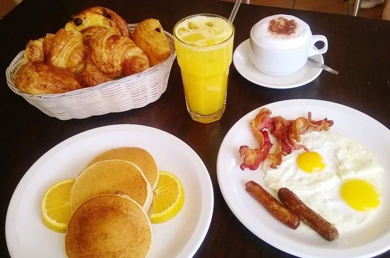 La Croissanterie: American breakfast & pancakes