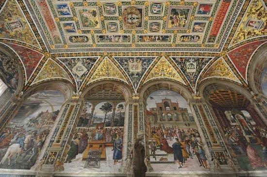 Cripta del Duomo di Siena : Biblioteca