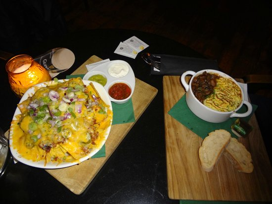O'Reilly's Irish Pub: chips tipo mexicano